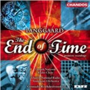The End of Time - CD Audio di Rued Langgaard