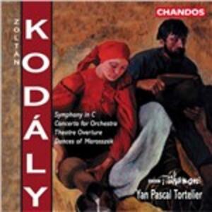 Concerto - CD Audio di Zoltan Kodaly