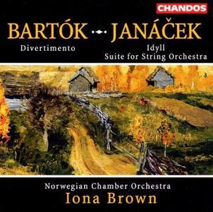 Opere orchestrali - CD Audio di Leos Janacek,Bela Bartok