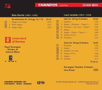 Opere orchestrali - CD Audio di Leos Janacek,Bela Bartok - 2