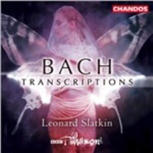 Trascrizioni Orchestrali - CD Audio di Johann Sebastian Bach,Leonard Slatkin