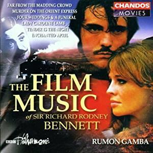 Musica da film - CD Audio di Richard Rodney Bennett