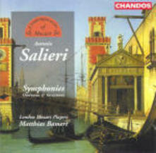 Sinfonie - Ouvertures - Variazioni - CD Audio di Antonio Salieri