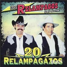 20 Relampagazos - CD Audio di Los Relámpagos del Norte
