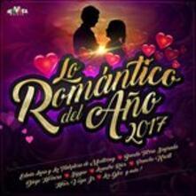 Romantico Del Ano 2017 - CD Audio