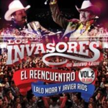 Reencuentro En Vivo 2 - CD Audio di Los Invasores de Nuevo Leon