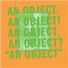An Object - CD Audio di No Age