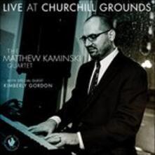 Live At Churchill Grounds - CD Audio di Gordon Matthew Kamin
