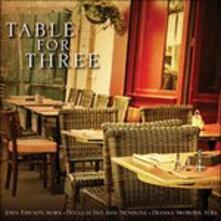 Table for Three - CD Audio di John Ericson