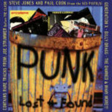 Punk Lost & Found - CD Audio