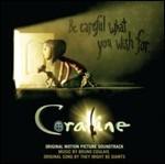 Cover CD Colonna sonora Coraline e la porta magica