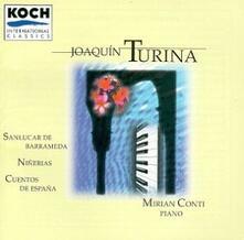 Sanlucar De Barrameda Op 24 - CD Audio di Joaquin Turina