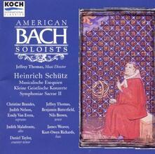 Musicalische Exequien Swv279 - CD Audio di Heinrich Schütz
