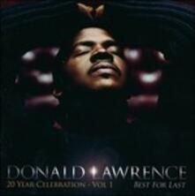 Best for Last - CD Audio di Donald Lawrence