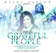 Spirit of a Grateful People - CD Audio di Kathy Taylor