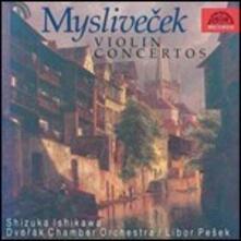Concerti per violino vol.1 - CD Audio di Josef Myslivecek