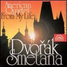 Quartetto n.12 / Quartetto n.1 - CD Audio di Antonin Dvorak,Bedrich Smetana,Panocha Quartet