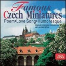 Famose miniature ceche - CD Audio di Vaclav Smetacek,Orchestra Sinfonica di Praga