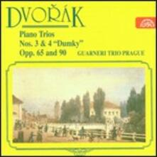 Trii con pianoforte n.3, n.4 - CD Audio di Antonin Dvorak,Guarneri Trio