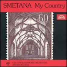 La mia patria (Ma Vlast) - CD Audio di Bedrich Smetana,Czech Philharmonic Orchestra,Jiri Belohlavek