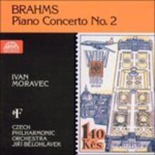 Concerto per pianoforte n.2 - CD Audio di Johannes Brahms