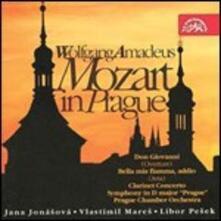 Mozart a Praga - CD Audio di Wolfgang Amadeus Mozart