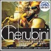 CD Requiem Luigi Cherubini Igor Markevitch Czech Philharmonic Orchestra