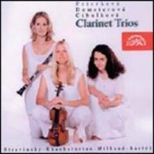 Trii con clarinetto - CD Audio di Igor Stravinsky