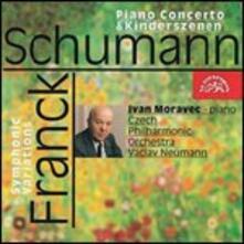 Musica per pianoforte e orchestra - CD Audio di Robert Schumann,César Franck,Czech Philharmonic Orchestra,Ivan Moravec