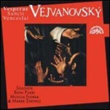Vesperi di San Venceslao - CD Audio di Pavel Josef Vejvanovsky