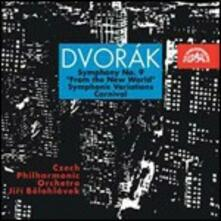 Sinfonia n.9 - CD Audio di Antonin Dvorak,Czech Philharmonic Orchestra,Jiri Belohlavek