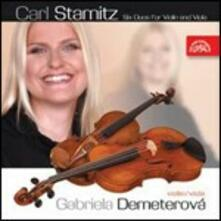 6 Duetti per violina and viola - CD Audio di Carl Stamitz