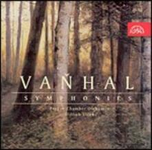 3 Sinfonie - CD Audio di Johann Baptist Vanhal