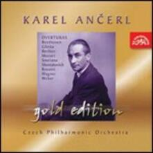Famose Ouvertures - CD Audio di Karel Ancerl,Czech Philharmonic Orchestra