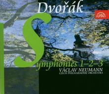 Sinfonie n.1, n.2, n.3 - CD Audio di Antonin Dvorak,Vaclav Neumann,Czech Philharmonic Orchestra