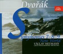 Sinfonie n.7, n.8, n.9 - CD Audio di Antonin Dvorak,Vaclav Neumann,Czech Philharmonic Orchestra