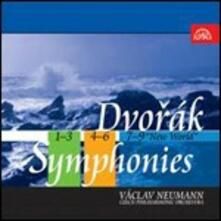 Sinfonie complete - CD Audio di Antonin Dvorak,Vaclav Neumann,Czech Philharmonic Orchestra