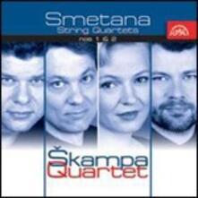 Quartetti per archi n.1, n.2 - CD Audio di Bedrich Smetana,Skampa Quartet
