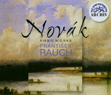 Opere per pianoforte - CD Audio di Vitezslav Novak
