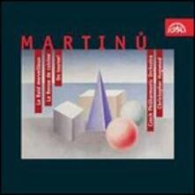 Le Raid Merveilleux - La Revue de Cuisine - On Tourne! - CD Audio di Bohuslav Martinu,Christopher Hogwood,Czech Philharmonic Orchestra
