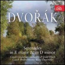 Serenate - CD Audio di Antonin Dvorak,Czech Chamber Orchestra