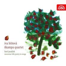 Poesie popolari morave in musica - CD Audio di Leos Janacek,Skampa Quartet