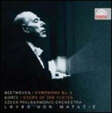 Sinfonia n.3 - CD Audio di Ludwig van Beethoven,Lovro Von Matacic,Czech Philharmonic Orchestra