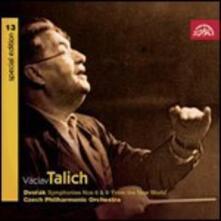 Sinfonie n.8, n.9 - CD Audio di Antonin Dvorak,Vaclav Talich,Czech Philharmonic Orchestra