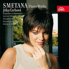 Opere per pianoforte vol.5 - CD Audio di Bedrich Smetana,Jitka Cechova