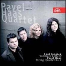 Quartetto per archi n.2 / Quartetto per archi n.2 - CD Audio di Leos Janacek,Pavel Haas,Pavel Haas Quartet