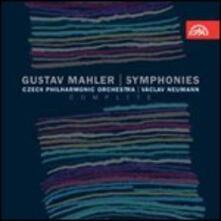Sinfonie complete - CD Audio di Gustav Mahler,Vaclav Neumann,Czech Philharmonic Orchestra
