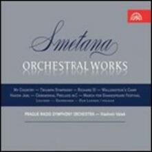 Opere per orchestra - CD Audio di Bedrich Smetana
