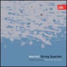 Quartetti per archi - CD Audio di Bohuslav Martinu