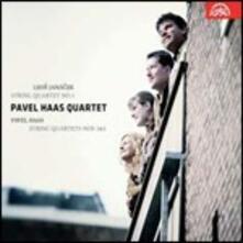 Quartetto per archi n.1 / Quartetti per archi n.1, n.3 - CD Audio di Leos Janacek,Pavel Haas,Pavel Haas Quartet